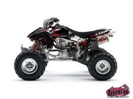 Kit Déco Quad Trash Honda 450 TRX Noir - Rouge