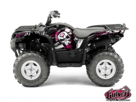 Kit Déco Quad Trash Yamaha 550-700 Grizzly Noir Rose