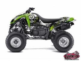Kit Déco Quad Trash Kawasaki 700 KFX Noir Vert