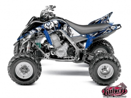 Kit Déco Quad Trash Yamaha 700 Raptor Noir Bleu