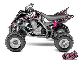 Kit Déco Quad Trash Yamaha 700 Raptor Noir Rose