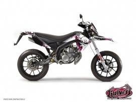 Kit Déco 50cc Trash Derbi DRD Xtreme Rose