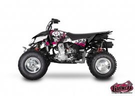 Kit Déco Quad Trash Polaris Outlaw 450 Noir Rose