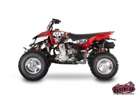 Kit Déco Quad Trash Polaris Outlaw 450 Noir Rouge
