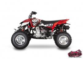 Kit Déco Quad Trash Polaris Outlaw 450 Noir Rouge