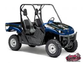 Kit Déco SSV Trash Yamaha Rhino Bleu
