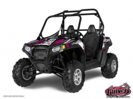 Kit Déco SSV Trash Polaris RZR 800 S Noir Rose