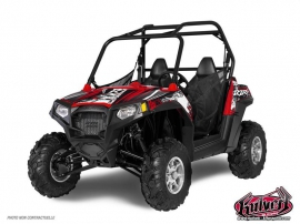 Kit Déco SSV Trash Polaris RZR 800 S Noir Rouge