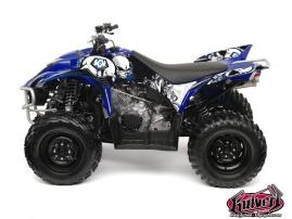 Kit Déco Quad Trash Yamaha 350-450 Wolverine Noir Bleu