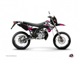 Derbi Xtreme / Xrace 50cc Trash Graphic Kit Pink