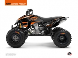 KTM 450-525 SX ATV Trophy Graphic Kit Black Orange