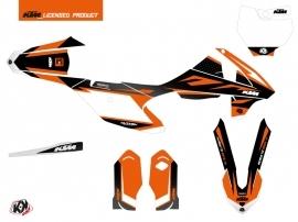 Kit Déco Moto Cross Trophy KTM 85 SX Noir Orange