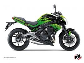 Kit Déco Moto Ultimate Kawasaki ER 6N Noir Vert