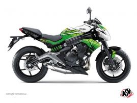 Kit Déco Moto Ultimate Kawasaki ER 6N Vert Blanc