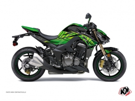 Kit Déco Moto Ultimate Kawasaki Z 1000 Noir Vert
