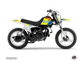 Yamaha PW 50 Dirt Bike US STYLE Graphic Kit Yellow