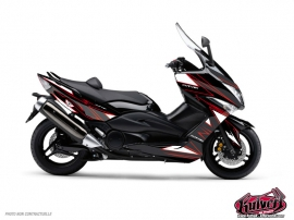 Kit Déco Maxiscoot Velocity Yamaha TMAX 500 Rouge
