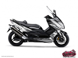 Kit Déco Maxiscooter Velocity Yamaha TMAX 530 Blanc Noir