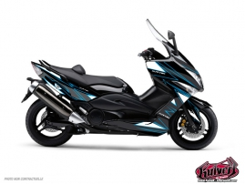 Yamaha TMAX 530 Maxiscooter Velocity Graphic Kit Blue