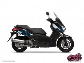 Kit Déco Maxiscooter Velocity Yamaha XMAX 125 Bleu