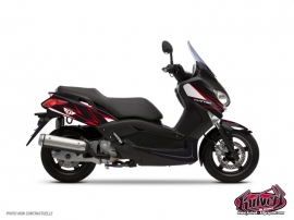 Kit Déco Maxiscooter Velocity Yamaha XMAX 125 Rouge