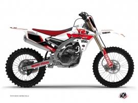 Kit Déco Moto Cross Vintage Yamaha 250 YZF Rouge