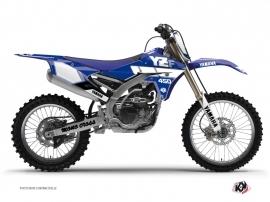Kit Déco Moto Cross Vintage Yamaha 450 YZF Bleu