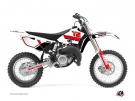 Kit Déco Moto Cross Vintage Yamaha 85 YZ Rouge