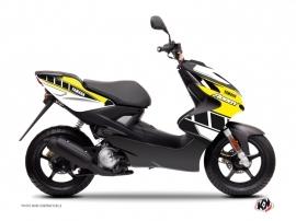 Kit Déco Scooter VINTAGE YAMAHA Yamaha Aerox Jaune