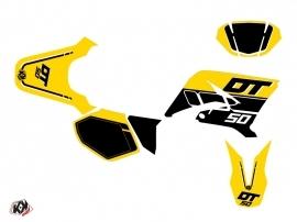 Yamaha DT 50 50cc Vintage Graphic Kit Yellow