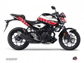 Kit Déco Moto Vintage Yamaha MT 03 Rouge