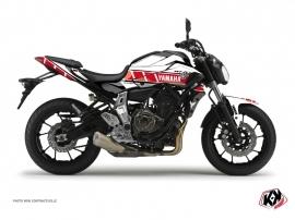 Kit Déco Moto Vintage Yamaha MT 07 Rouge