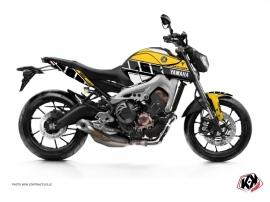 Kit Déco Moto Vintage Yamaha MT 09 Jaune