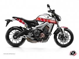 Kit Déco Moto Vintage Yamaha MT 09 Rouge