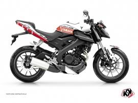 Kit Déco Moto  Vintage Yamaha MT 125 Rouge