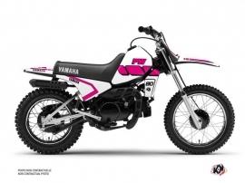 Kit Déco Moto Cross Vintage Yamaha PW 80 Rose