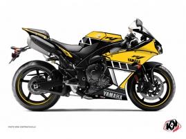 Kit Déco Moto Vintage Yamaha R1 60th Anniversary