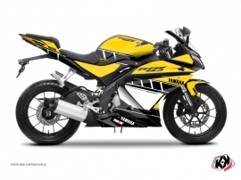 Kit Déco Moto VINTAGE YAMAHA Yamaha R125 Jaune