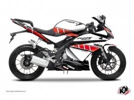 Kit Déco Moto Vintage Yamaha R125 Rouge