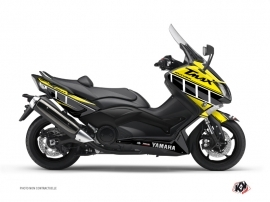 Kit Déco Maxiscooter Vintage Yamaha TMAX 500 Jaune