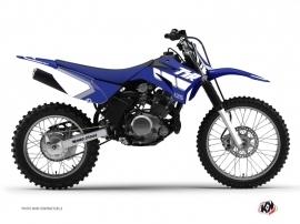 Kit Déco Moto Cross Vintage Yamaha TTR 125 Bleu