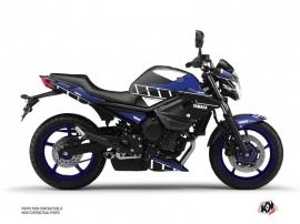 Kit Déco Moto Vintage Yamaha XJ6 Bleu