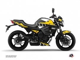 Kit Déco Moto Vintage Yamaha XJ6 Jaune