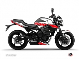 Yamaha XJ6 Street Bike Vintage Graphic Kit Red