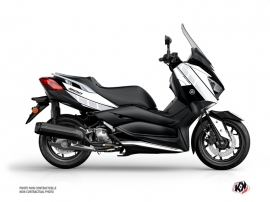 Yamaha XMAX 300 Maxiscooter Vintage Graphic White