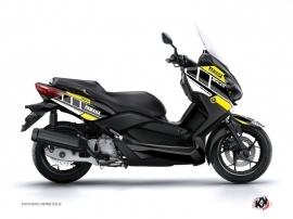 Kit Déco Maxiscooter VINTAGE YAMAHA Yamaha XMAX 400 Jaune