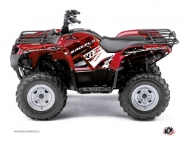 Kit Déco Quad Wild Yamaha 300 Grizzly Rouge