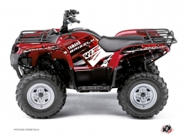 Kit Déco Quad Wild Yamaha 350 Grizzly Rouge