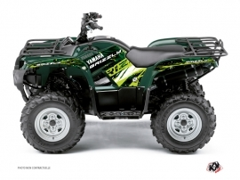 Kit Déco Quad Wild Yamaha 350 Grizzly Vert
