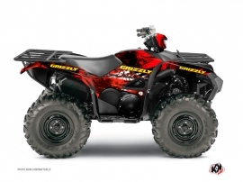 Kit Déco Quad Wild Yamaha 700-708 Grizzly Rouge
